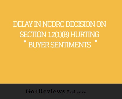 Delay in NCDRC decision on section 12(1)(b)