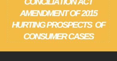 ARBITRATION AND CONCILIATION AMENDMENT ACT 2015