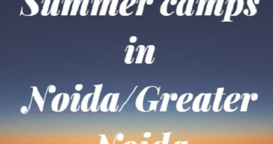 Summer camps in Noida and Greater Noida