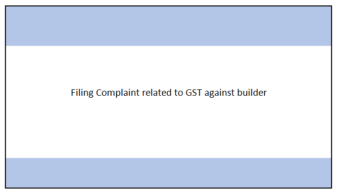 Filing GST Complaint