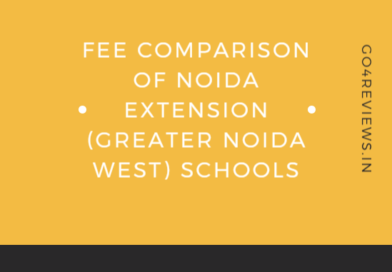 Fee structure comparison of Noida extension schools