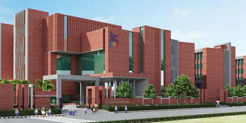 The infinity school Noida extension Courtesy: Management website