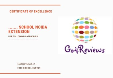 Go4Reviews School Awards 2020 Noida extension